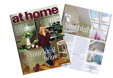 Featured in at home