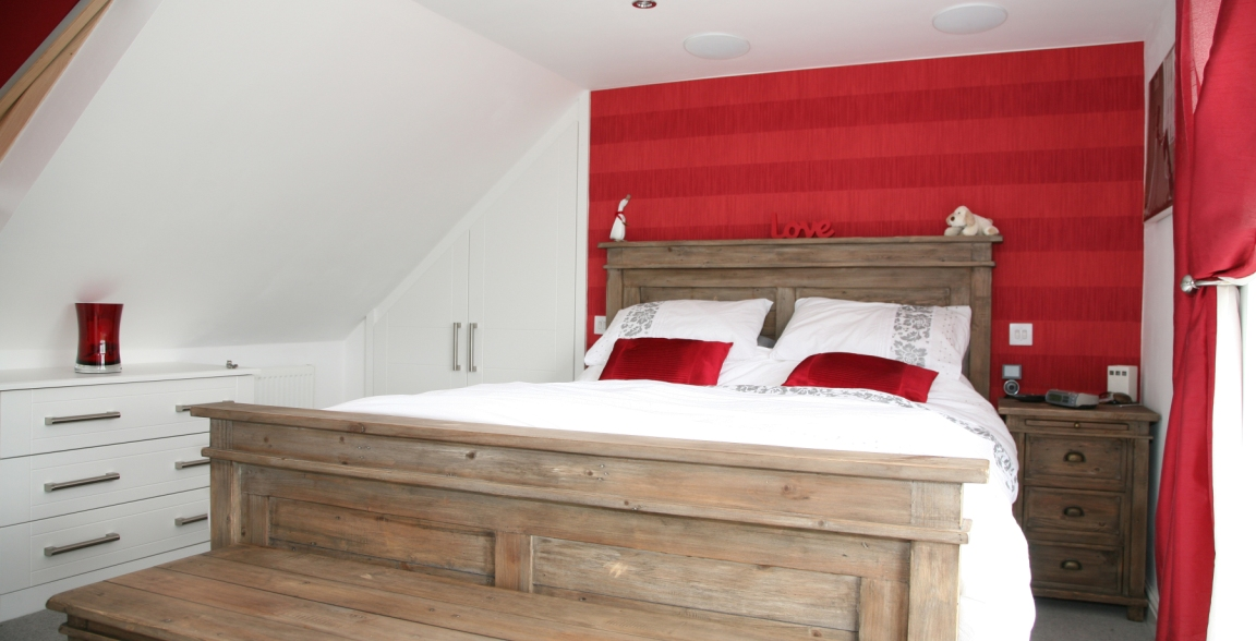 Master bedroom with en suite amp wardrobe