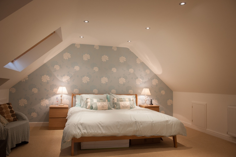 Velux loft conversion access lofts Master bedroom with loft area