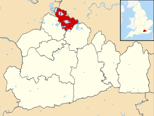 Staines Map