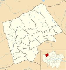 Harrow Map