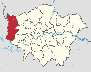 Hillingdon Map